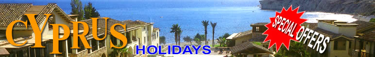 Cyprus holidays special offers - cheap deals - pickup a bargain holiday at hotels and villas in Cyprus